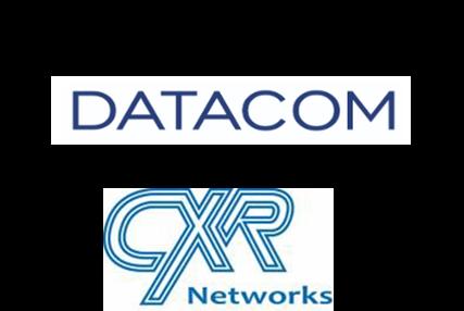 Datacom and CXR logo