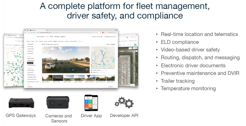 Fleet management slide