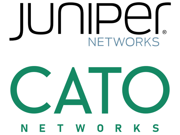 Juniper Networks and Cato Networks logo
